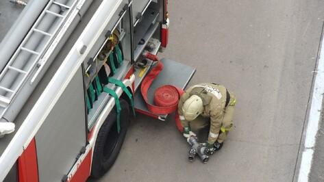 На Воронежском заводе полупроводниковых приборов произошел пожар