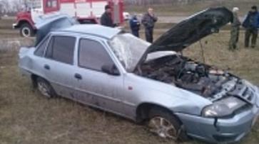 При опрокидывании «Нексии» в Воронежской области ранены два человека