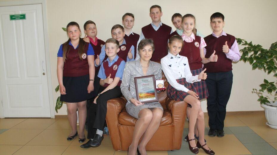 Хохольская школа стала лауреатом всероссийского конкурса «Лучшая сельская школа-2017»