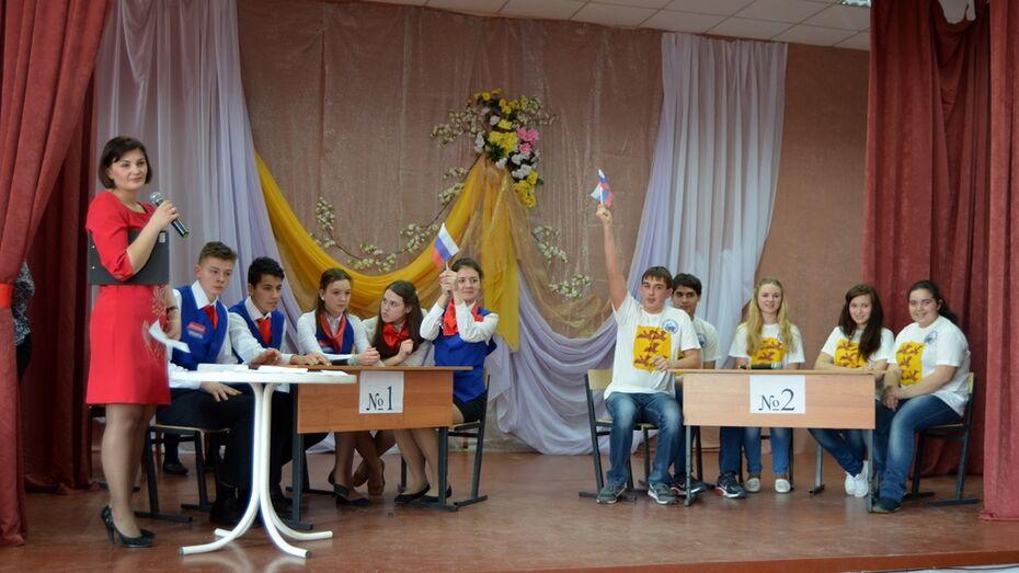 В Семилукском районе назвали победителей брейн-ринга по избирательному праву