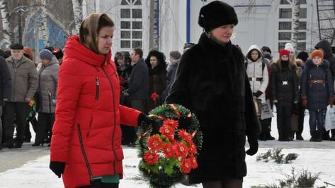Репьевцы отметили годовщину освобождения района от фашистких захватчиков