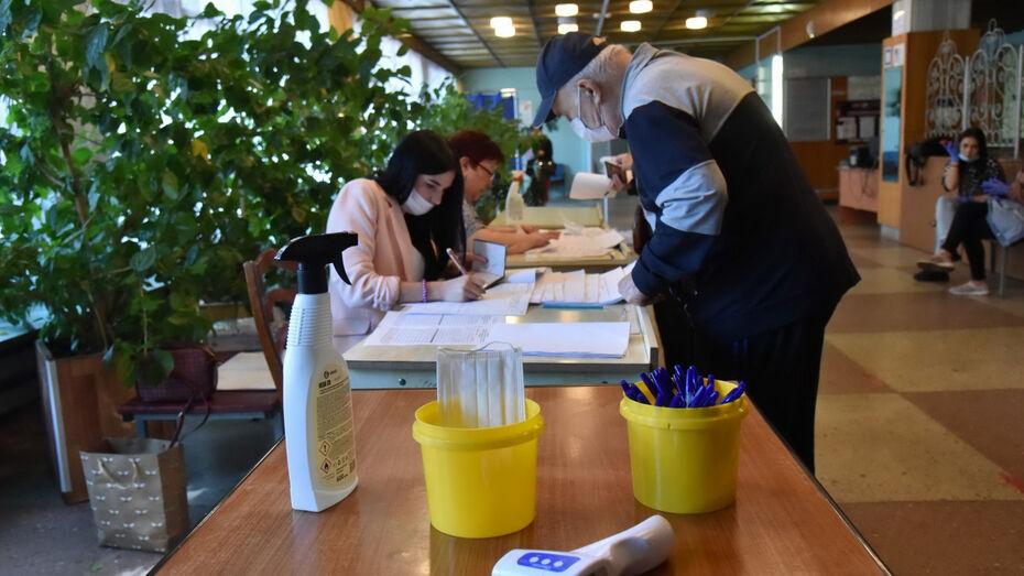 В первый день выборов в Воронежской области проголосовали 14,34% избирателей