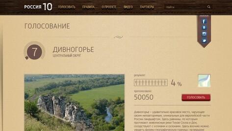 За Дивногорье отдали 50 тысяч голосов