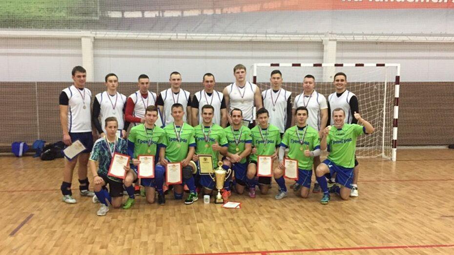 Хохольские спортсмены завоевали Кубок Воронежской области по мини-лапте