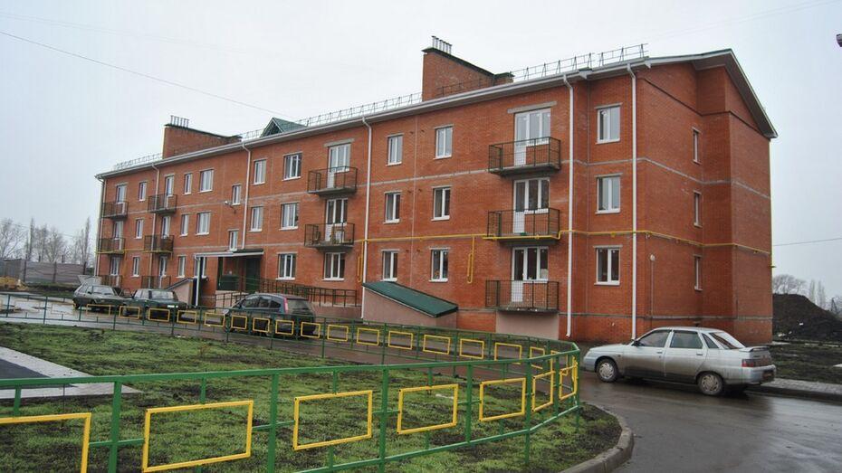 В Семилуках за 2 года расселят 17 аварийных домов