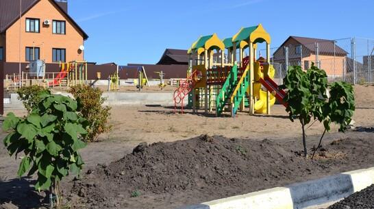 В Лисках на месте пустыря сделали детскую площадку за 1 млн рублей