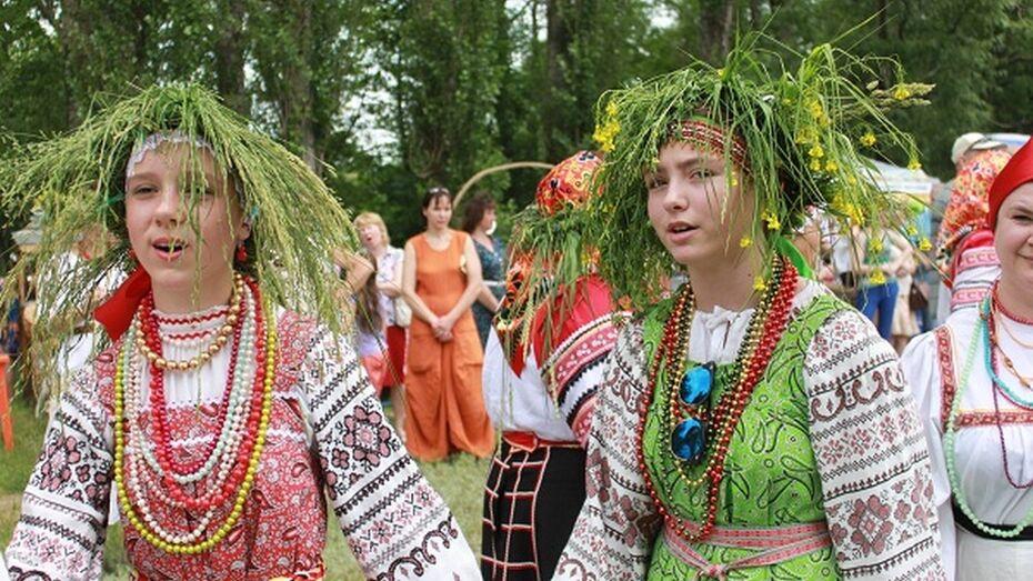 Под Воронежем пройдет XX межрегиональный молодежный фольклорный фестиваль «На Троицу»