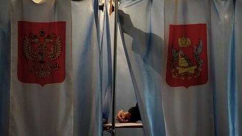 В Воронежской области стартовали выборы губернатора