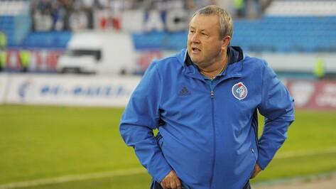 Тренер воронежского «Факела» о матче с «Тюменью»: «Средняя линия сыграла слабо»
