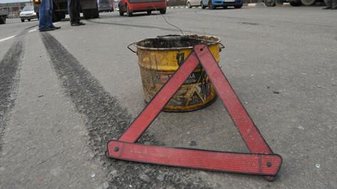 На трассе в Воронежской области под колесами кроссовера погиб мужчина