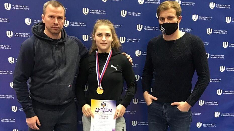 Воронежские спортсмены стали чемпионами России по борьбе
