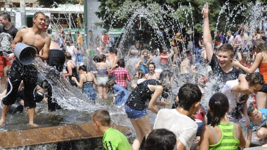 Выходные в Воронеже будут жаркими и дождливыми