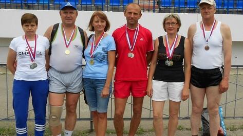 Каширские ветераны спорта завоевали 14 медалей на первенстве области по легкой атлетике
