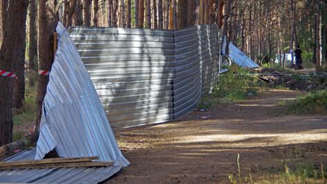 Стрельба в Северном лесу Воронежа: раненого увезла «скорая»