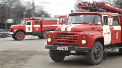 В Воронеже при  пожаре в многоэтажке пострадал мужчина