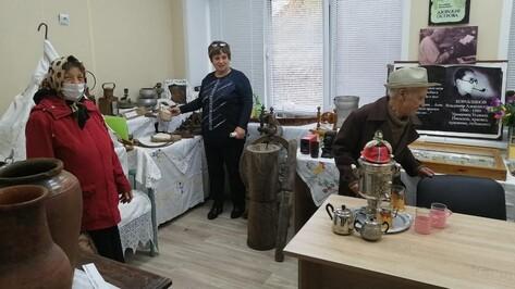 Музей старинного быта создали в верхнехавском селе Углянец