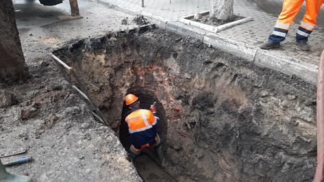 В Воронеже администрация детсада поблагодарила коммунальщиков за быстрый ремонт водопровода