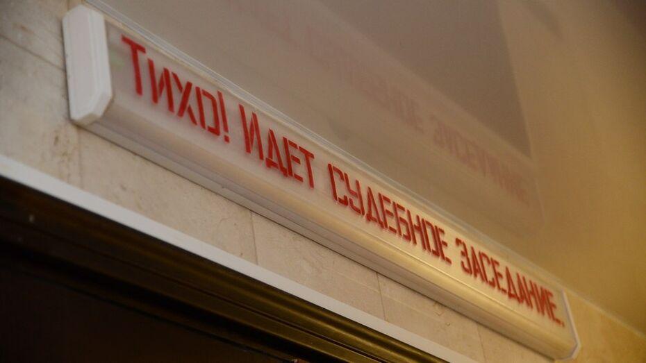 Бухгалтер воронежской фирмы получила условный срок за хищение 2,5 млн рублей
