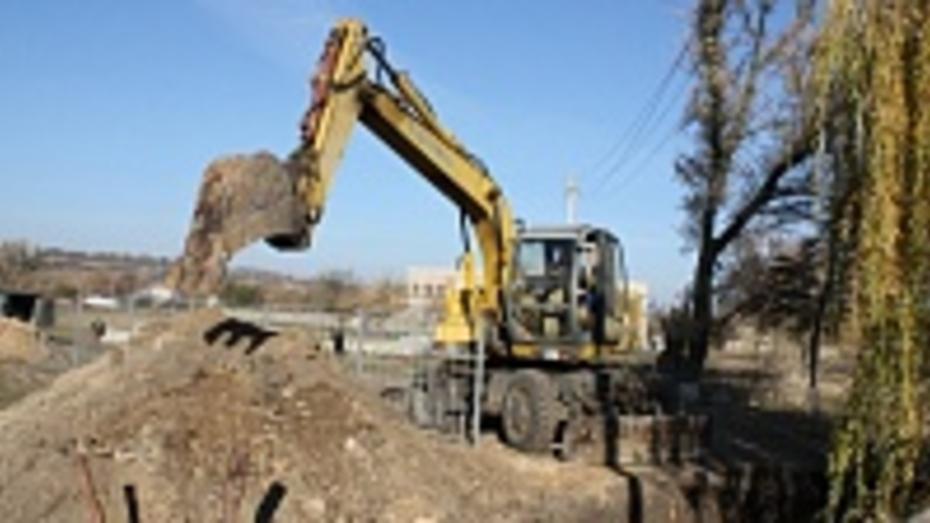 В Ольховатском районе заложили фундамент школьной газовой котельной