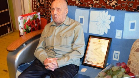 На 98-м году жизни умер воронежский ветеран Сергей Некраш