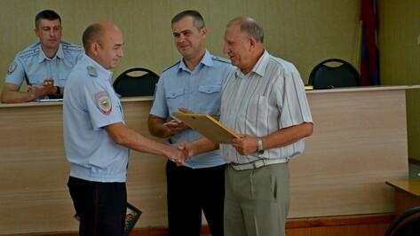 Острогожский полицейский получил благодарность за спасение утопающего