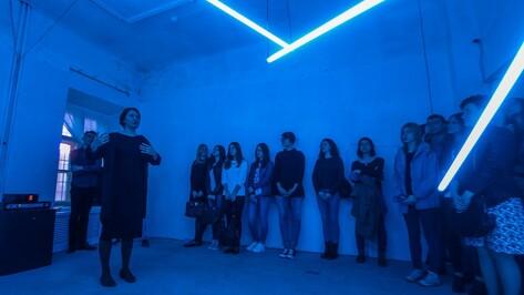 Живой звук и ночесветки. Что показал воронежский художник на выставке «цифровой жизни»
