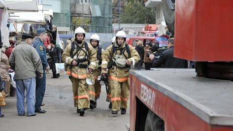 Воронежские сотрудники МЧС участвовали во всероссийских учениях