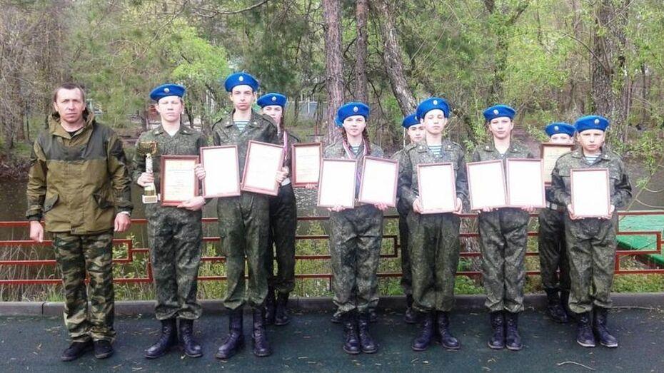 Грибановцы победили в финале военно-спортивной игры «Победа»