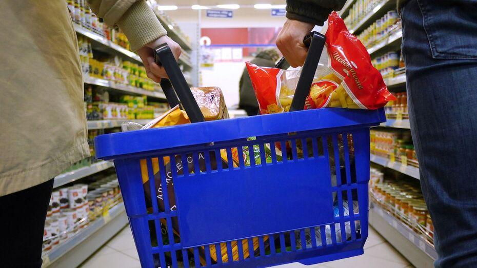 Потребительская корзина воронежцев подешевела до 3448 рублей