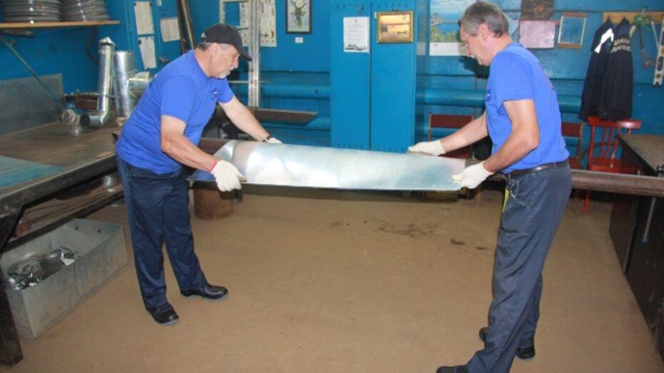 Сотрудники воронежского водоканала провели капремонт вентиляционной системы на КНС-30