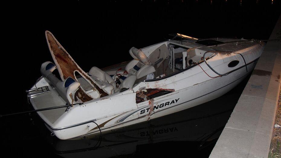 СК выяснит причины аварии с двумя катерами на Воронежском водохранилище
