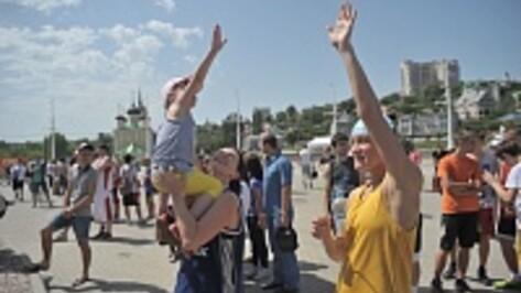 В фестивале «Сборная страны» в Воронеже участвуют пять тысяч человек