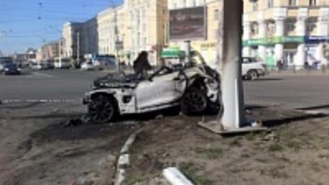 По данным камер видеонаблюдения, виновником ДТП, в котором сгорели человек и машина, стал водитель «БМВ»