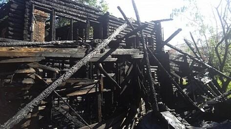 Воронежец по неосторожности спалил дом знакомой в Отрожке