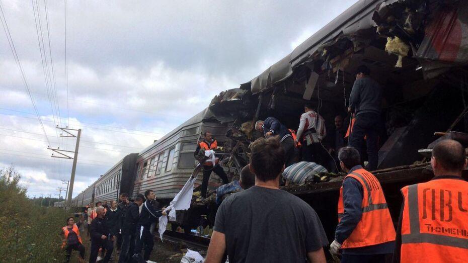 Под Нижневартовском пассажирский поезд столкнулся с «КАМАЗом»: пострадали 16 человек