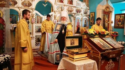 В Терновском районе впервые прошла служба с участием митрополита