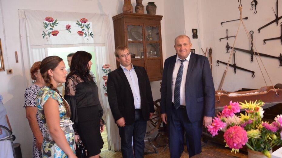 В павловском селе Лосево открыли краеведческий музей
