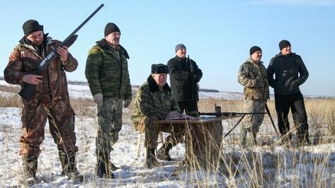 В Острогожском районе наградили лучших охотников