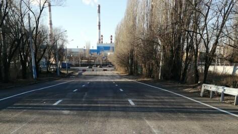 Движение по мосту через реку Песчанка в Воронеже открыли раньше срока