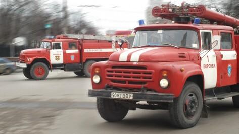 В Воронеже ночью загорелись 3 овощных киоска