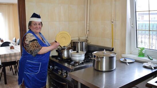 Социальная столовая при соборе в Борисоглебске возобновила работу после ремонта