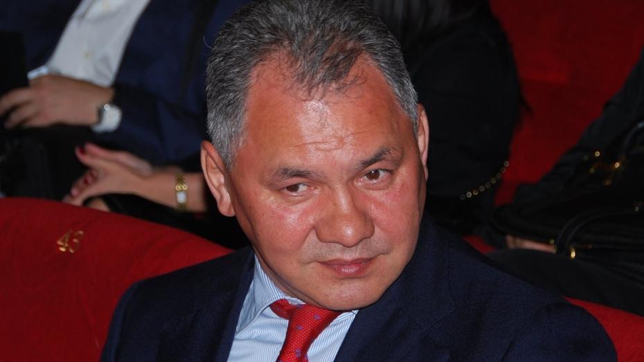 Сергей Шойгу распорядился о создании в Воронеже научной роты