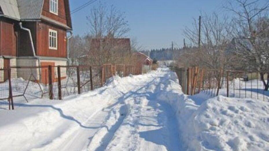 17-летний житель Рамони обокрал дачу бывшего мэра Воронежа Бориса Скрынникова