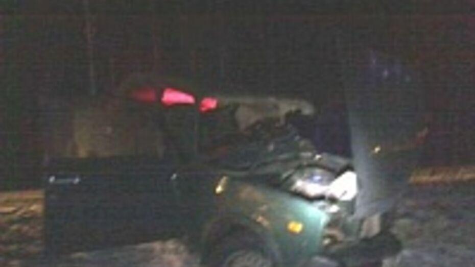 В Грибановском районе «пятерка» врезалась в «КамАЗ»: один человек погиб