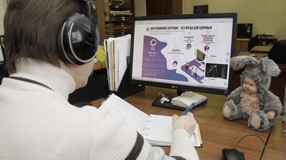 В воронежских школах с избирательными участками 3 дня будут учиться онлайн