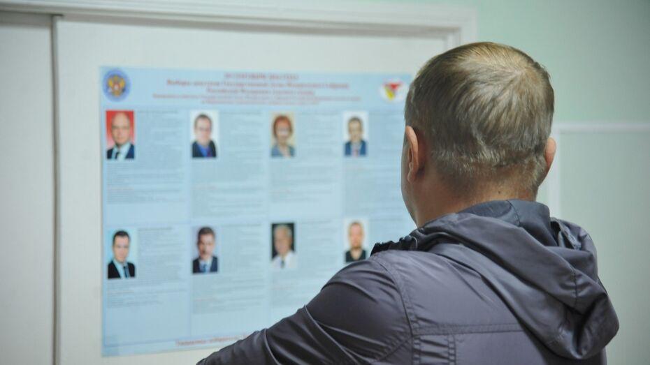 Воронежские единороссы-одномандатники по данным на 23:00 взяли 3 места в Госдуме