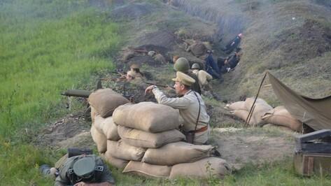 В Нижнедевицком районе прошла военно-историческая реконструкция