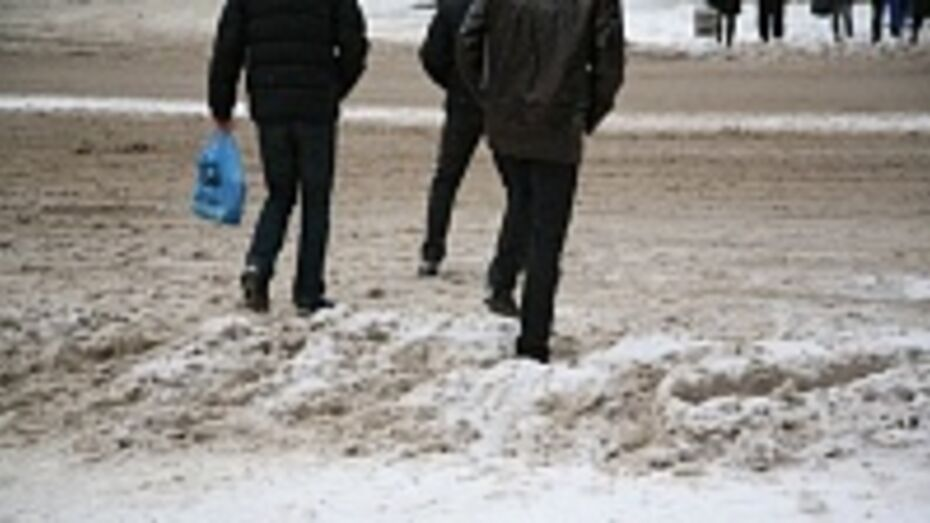 Губернатор остался недоволен качеством уборки снега с улиц Воронежа