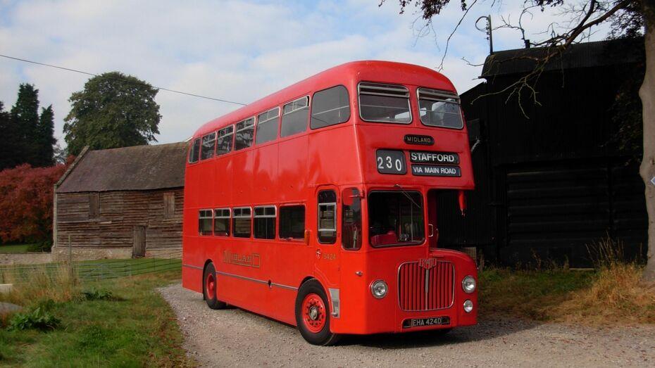 На сайте РОИ появилось предложение пустить по Воронежу двухэтажные автобусы