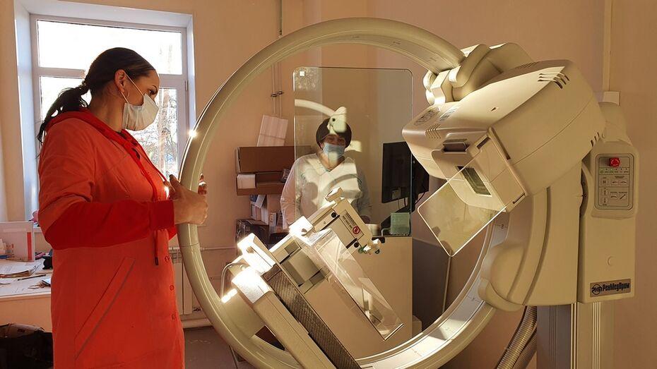 Медоборудование стоимостью 31 млн рублей поступило в острогожскую поликлинику